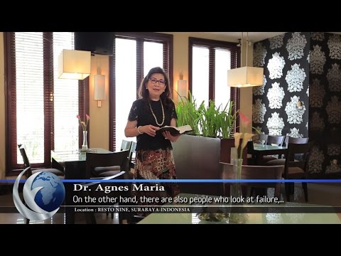 "Video Lensa Firman Episode: ""Transform Failure Into Success"" by Dr. Agnes Maria."
