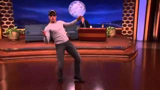 Jean Claude Van Damme recreates his Kickboxer dance moves.. 2014