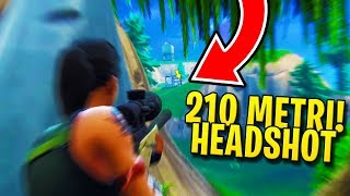 Fortnite ITA - 210 METRI HEADSHOT and FIRST REAL LEGEND!