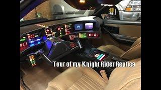 Tour of my 1982 Knight Rider Kitt Replica