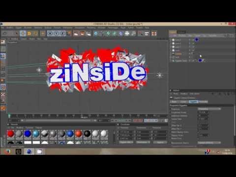 Come creare una INTRO AVANZATA utilizzando la TELECAMERA su CINEMA 4D ( ITA-HD )