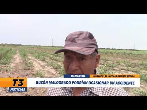 BUZÓN MALOGRADO PODRÍAN OCASIONAR UN ACCIDENTE
