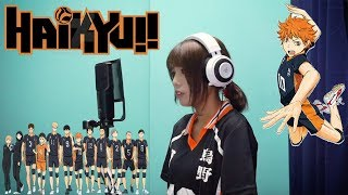 SPYAIR - Imagination イマジネーション  【ハイキュー!! HAIKYUU!! OP】Vocal cover by Amelia