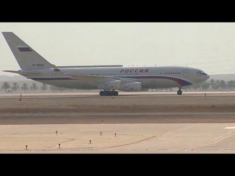 لحظة وصول طائرة الرئيس الروسي إلى الرياض  - نشر قبل 2 ساعة