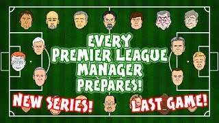 ⚽️NEW SERIES on 442oons!⚽️ EVERY PREMIER LEAGUE MANAGER PREPARES ... for the final game!