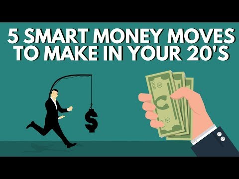5 Smart Money Moves To Make In Your 20's