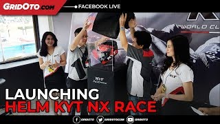 Video Launching Helm KYT NX Race di ARRC 2018 download MP3, 3GP, MP4, WEBM, AVI, FLV Oktober 2018