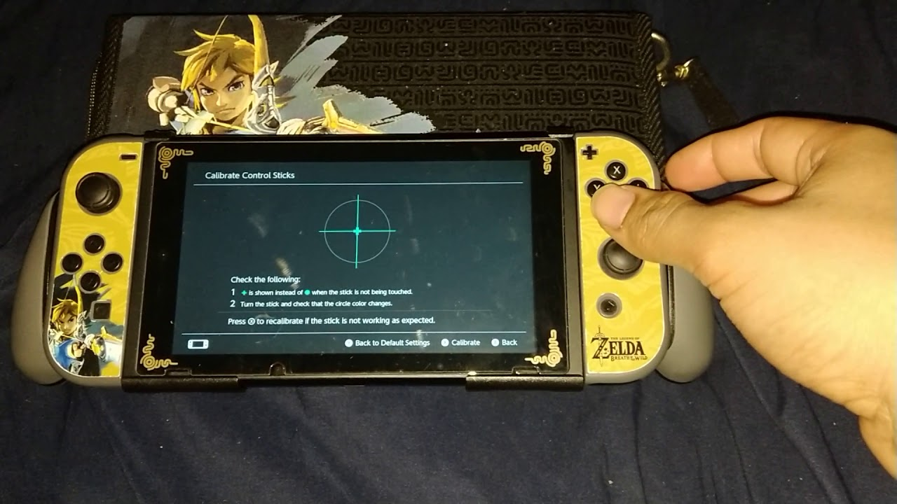 how to temporarily fix your joy cons issue on the switch :)