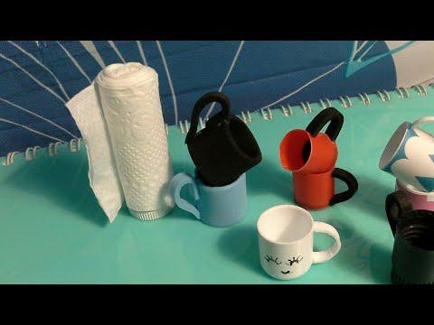 MANUALIDAD: Mini Rollo de servilleta para barbie 💖 DIY mini paper towels roll