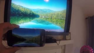 como conectar el telefono celular al televisor