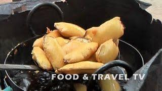 Banana Bajji | Banana Bada | Aratikaya Bajji | Evening Snacks In India