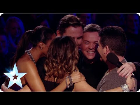Group hugs and Judges' revelations! Stephen Mulhern gets the low down | Britain's Got Talent 2013