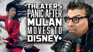 Theater Chains are PANICKING after MULAN Moves to Disney+ - SEN LIVE #189