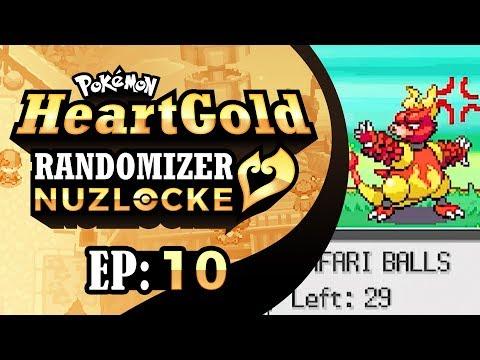 Pokemon HeartGold Randomizer Nuzlocke - EP10   A Hot Mess in a Hot Safari!