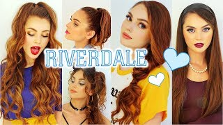 the cw RIVERDALE Hairstyles   Cheryl Blossom, Betty Cooper, Veronica Lodge & Josie