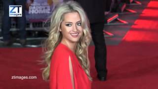 Chloe Paige of X Factor at film premiere of Daddy's Home - London, UK. ZTimagesTV.