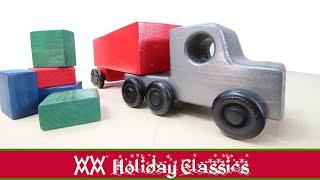 Зробити цей дивовижний іграшковий вантажівка від однієї дошки 2х4