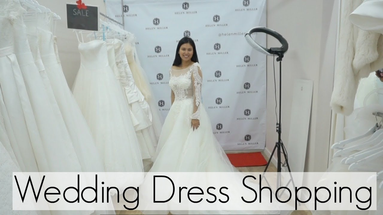 Come Wedding Dress Shopping with Me!   BHLDN & NORDSTROM WEDDING ...