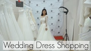Come Wedding Dress Shopping with Me! | BHLDN & NORDSTROM WEDDING SUITE