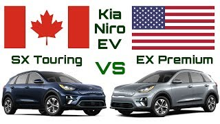 Differences Between the Canadian and US Kia Niro EV