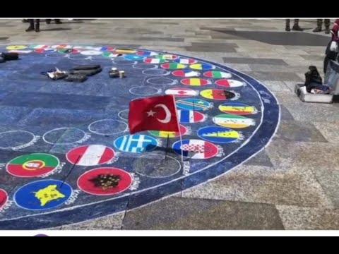 Bayragımız Yerde Olamaz🇹🇷🇹🇷Üzerine
