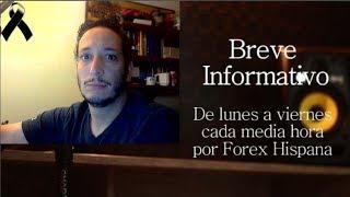 Breve Informativo - Noticias Forex del 12 de Septiembre 2018
