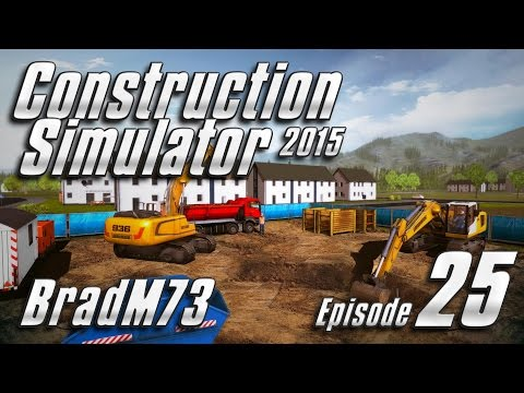 Construction Simulator 2015 - Episode 25 - Stadium Pool & Mayor's Mansion - Part 1