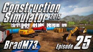 Construction Simulator 2015 - Episode 25 - Stadium Pool & Mayor's Mansion - Part 1