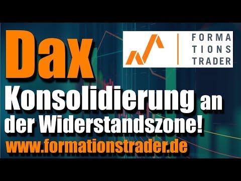 Dax: Bullische Konso an der Widerstandszone