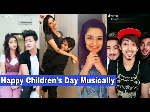 Happy Children's Day Musically | Jannat Zubair, Mr. Faizu, Manjul Khattar, Aashika, Avneet, Mrunal