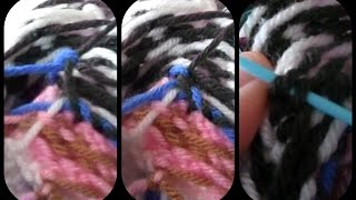 Tying and Sewing Tails into Fairisle | Easy Weaving in Ends
