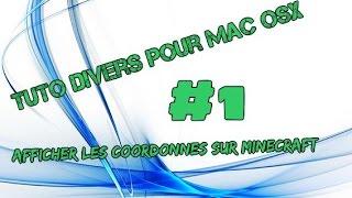 Tuto Mac OSX coordonnées minecraft #1 ★ Tuto Mac
