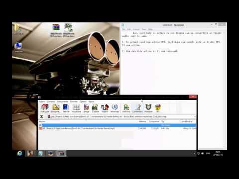 Cum sa transformi un fisier audio .mp3 in .wma