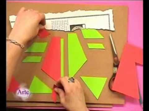 Ideas para componer en pintura abstracta - YouTube