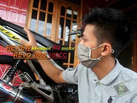 Knalpot R9 Honda Revo 2008