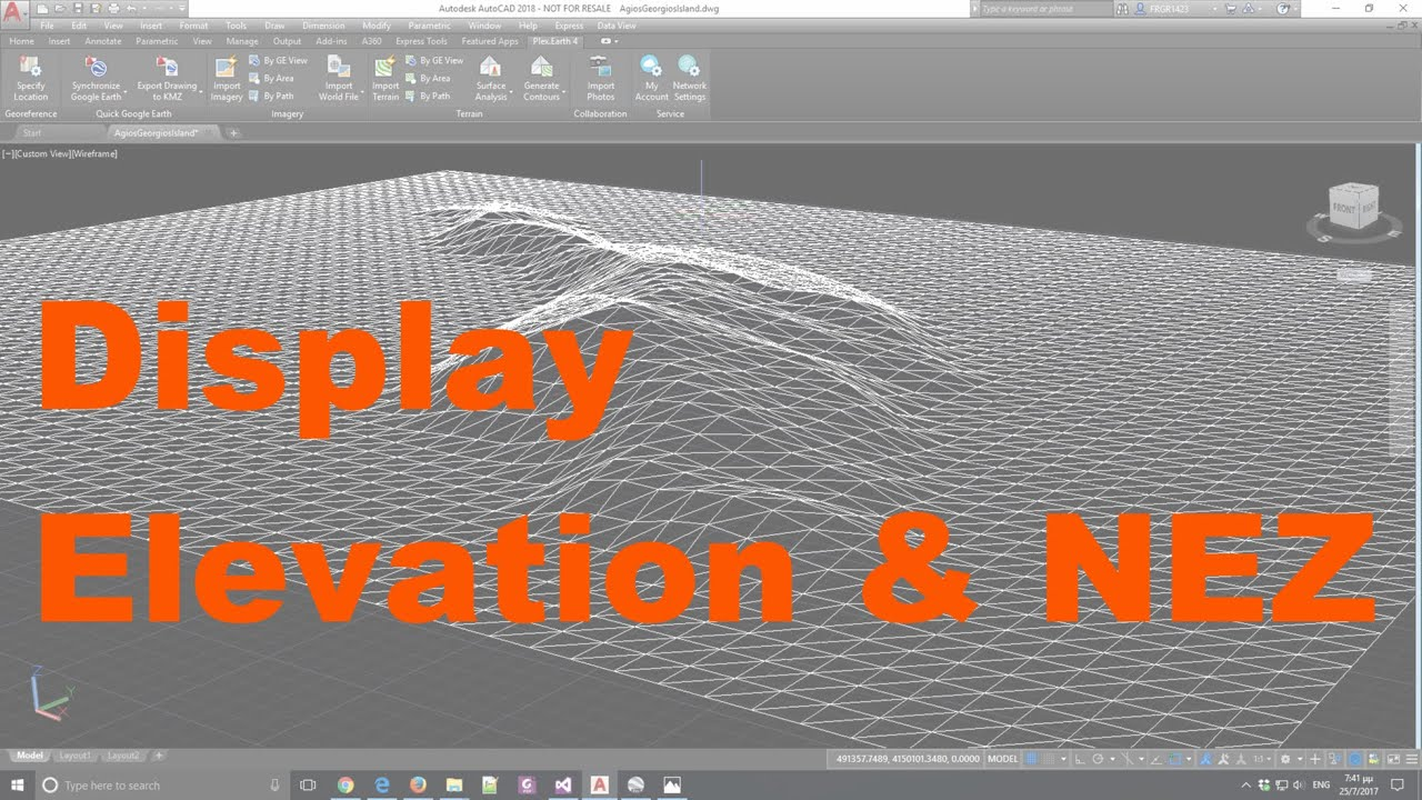 How to display northing, easting, elevation in AutoCAD civil 3D 2019   how  to showing NEZ in Autocad
