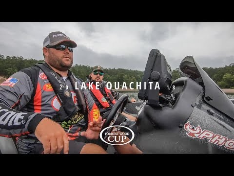 Day 5: Clent Davis On Lake Ouachita (Forrest Wood Cup)