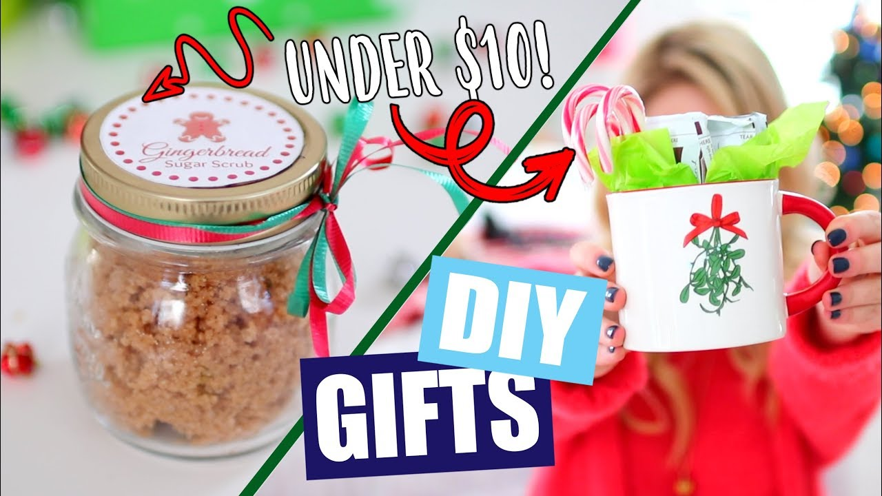 Diy Christmas Gifts Under 10 Youtube