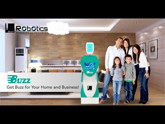 Buzz | Intelligent, Interactive, Autonomous Humanoid Robot