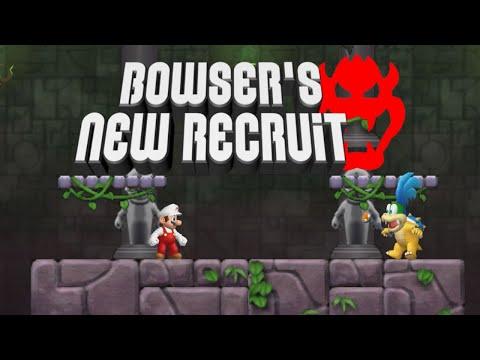 Bowser's New Recruit Newer Super Mario Bros.Wii #2 Walkthrough 100% |
