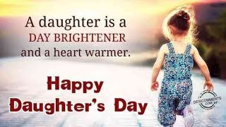 Happy Daughters Day Status | Happy Daughters Day Song | Happy Daughters Day Status 2020 | JBCREATION