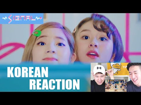 Thumbnail: TWICE - SIGNAL M/V [KOREAN REACTION]