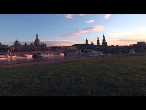 The beautiful first spring-sun is shining (Dresden Elbe Edit)