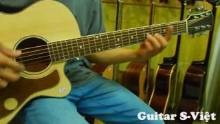 GUITAR S VIỆT - TEST GUITAR HỒNG ĐÀO ESDC180