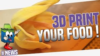 3D Printing Is Coming To Your Kitchen!!