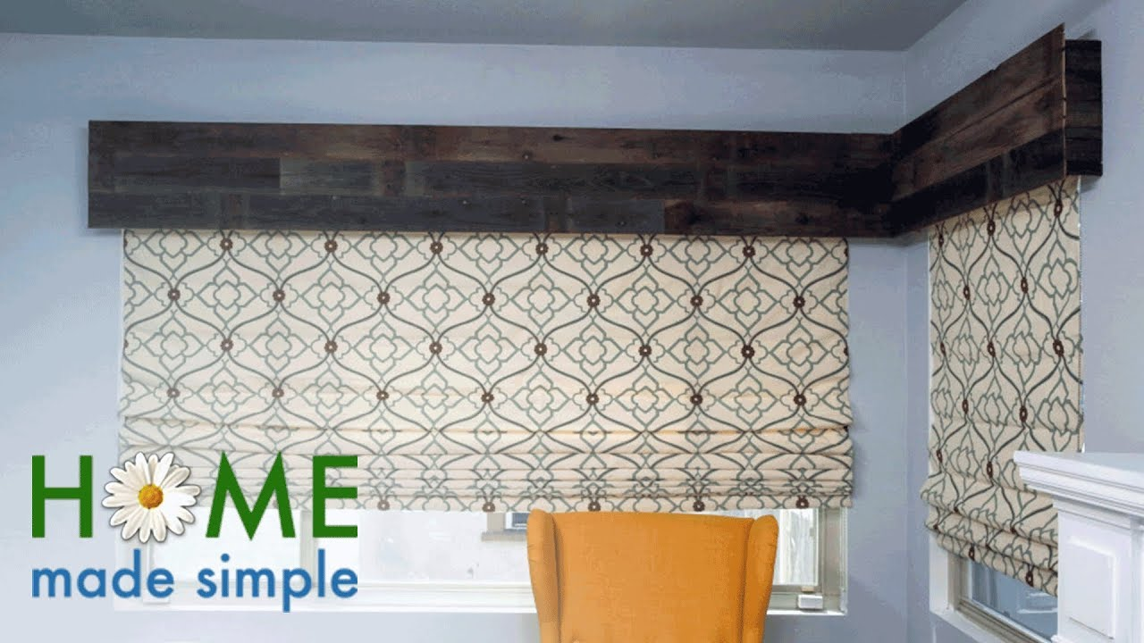 Dress Up Your Windows With Diy Reclaimed Wood Valances
