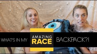 What's in my AMAZING RACE BACKPACK?! w/ London of Team LOLO