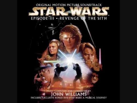 Star Wars Episode Iii Revenge Of The Sith Track 11 Enter Lord Vader Youtube