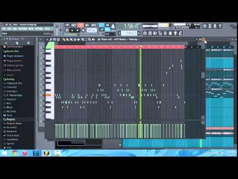 FL studio beat : Zaho - Tourner la Page (Remix)  including FL Studio 12 Fresh New Look