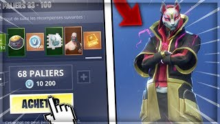 I BUY the NEW PASSE of COMBAT SAISON 5 on FORTNITE Battle Royale